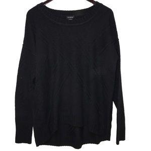 Calvin Klein    Black crewneck knit sweater